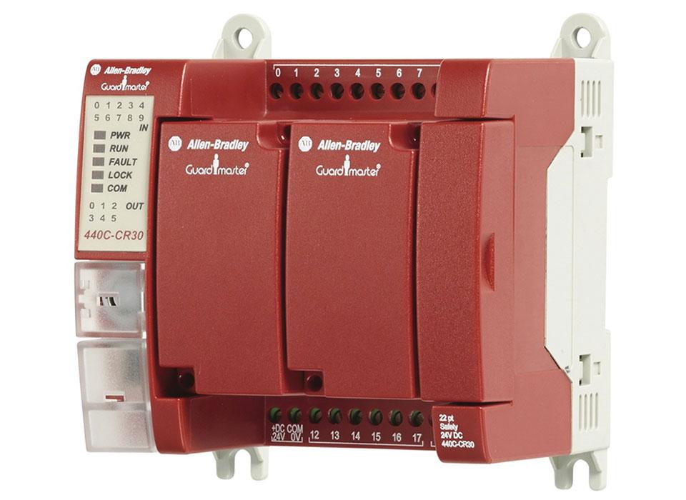 CR30 – Relais de sécurité configurable par logiciel