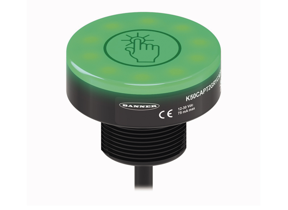 Bouton tactile lumineux K50A