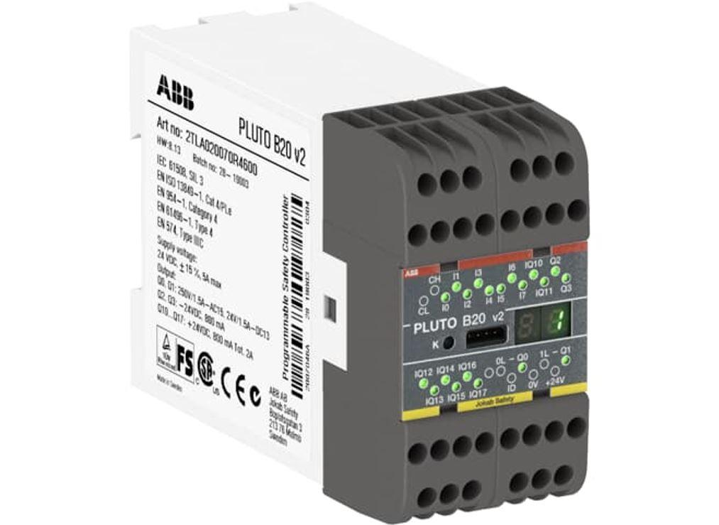 Automate Pluto Safety PLC