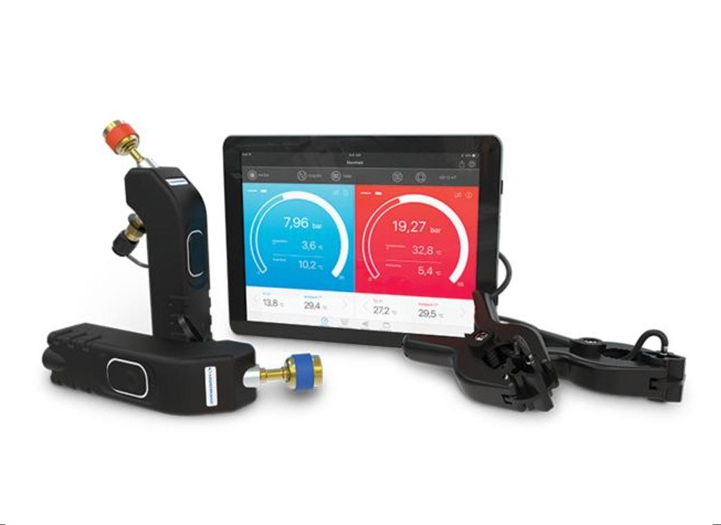 Sondes manifold sans fil double valves Si-RM3
